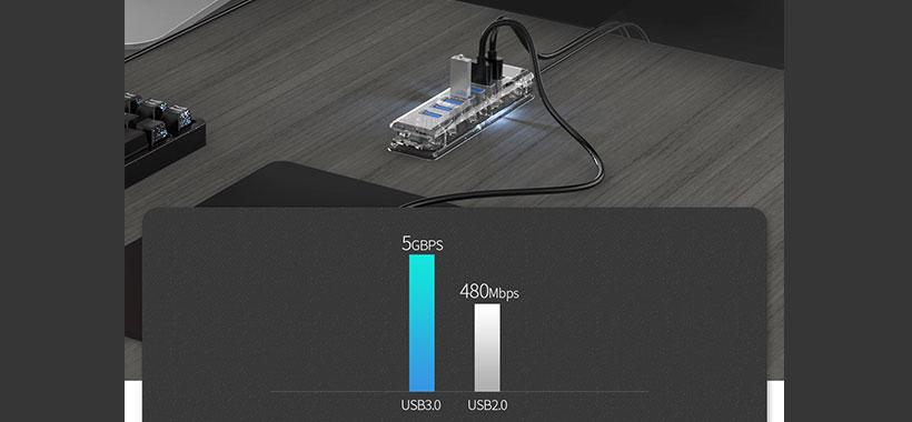 هاب USB اوریکو مدل F7U-U3