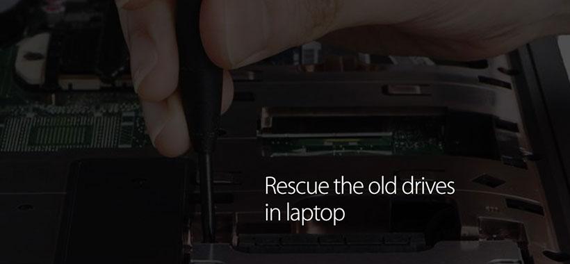 امکان استفاده از درایور های قدیمی mSATA SSD