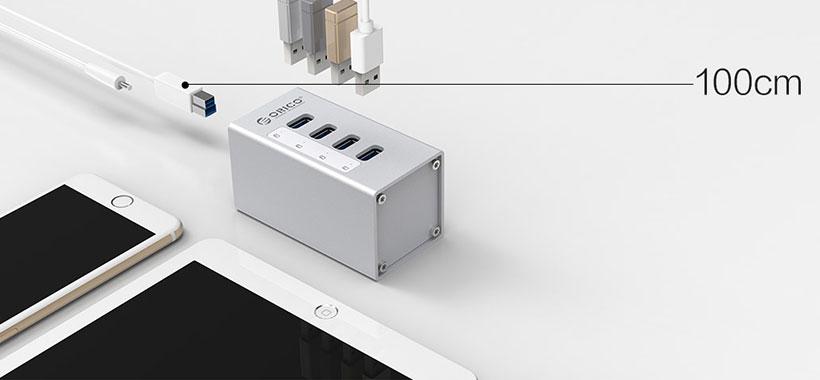 کابل داده یک متری USB3.0
