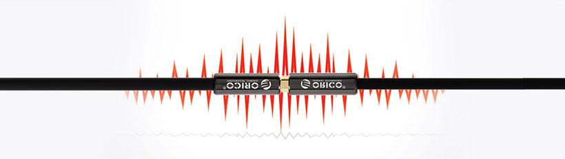 کابل صدا افزایش طول اوریکو