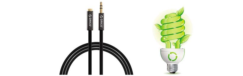کابل صدا اوریکو سازگار با محیط زیست