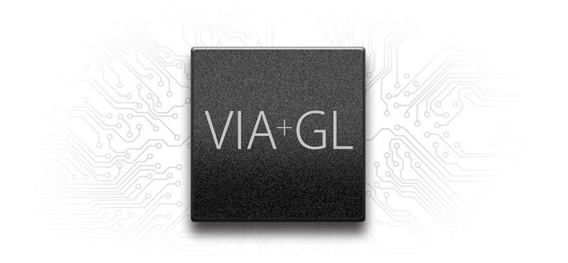 کنترل دوگانه VIA + GL