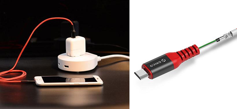 کابل شارژ و انتقال داده ORICO