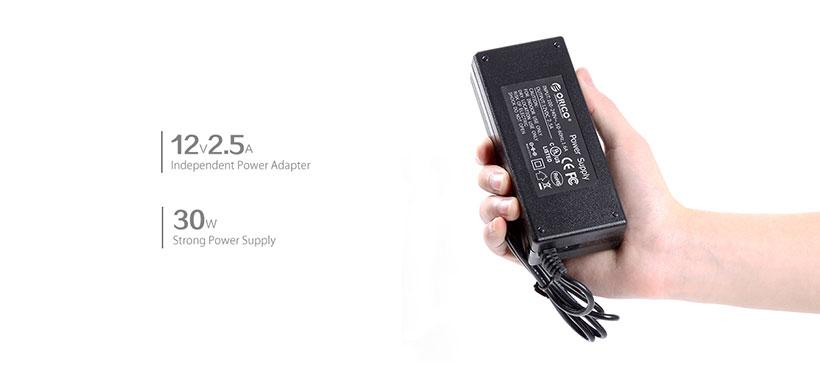 آداپتور برق 30W هاب اوریکو