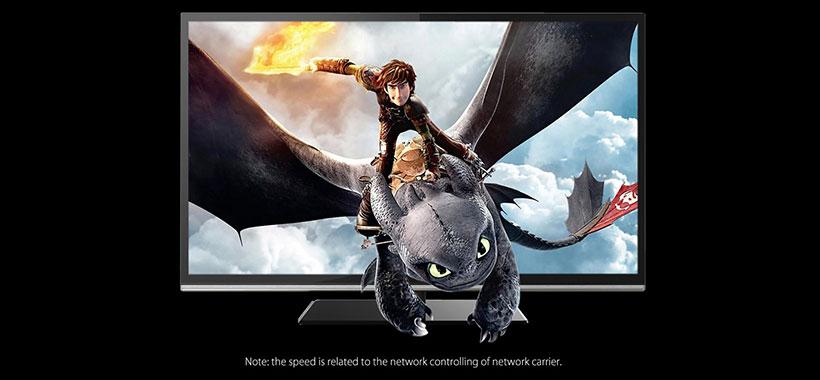 کابل شبکه اوریکو باکیفیت نمایش فیلم 1080p