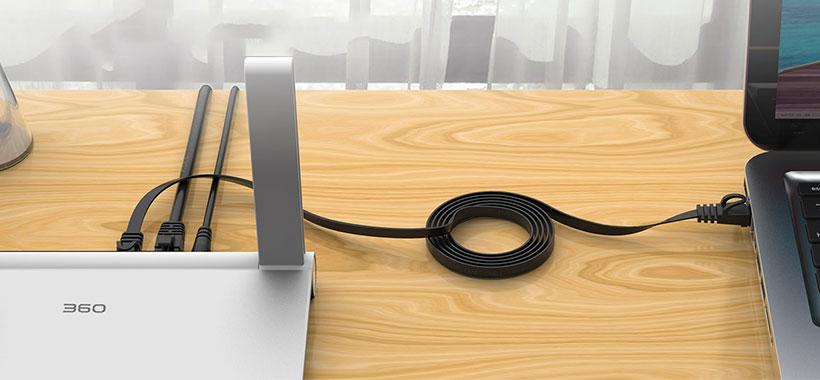 کابل شبکه اوریکو با پهنای باند 1000 مگابیت درثانیه