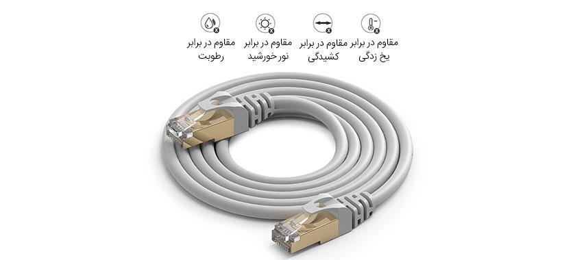 کابل شبکه اوریکو pug-c7