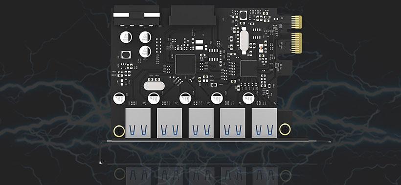 کارت PCI-E اوریکو