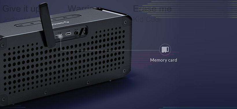 پخش مستقیم موسیقی از روی کارت حافظه با اسپیکر اوریکو