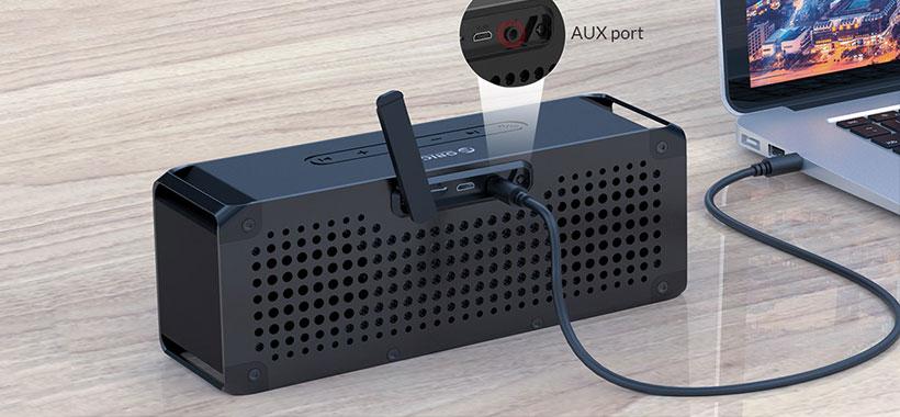 اتصال به اسپیکر با کابل صدا