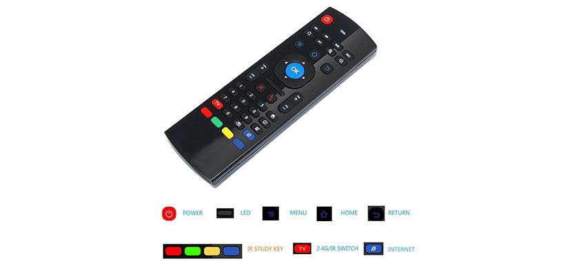 ریموت کنترل ایرموس Air Mouse MX3