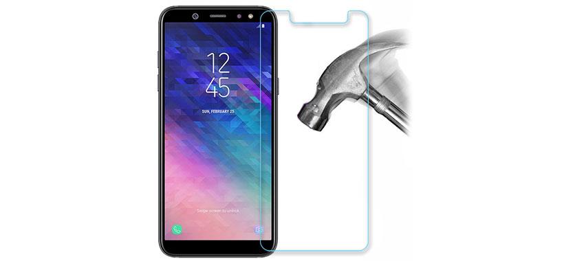 محافظ صفحه نمایش شیشه ای سامسونگ A6 Plus 2018