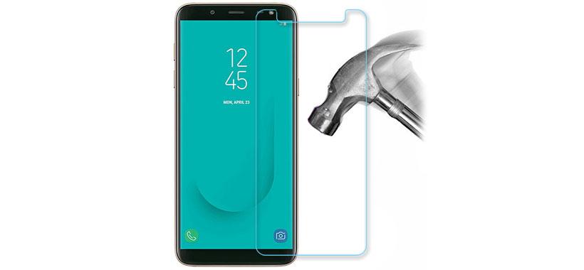 محافظ صفحه نمایش شیشه ای سامسونگ جی6