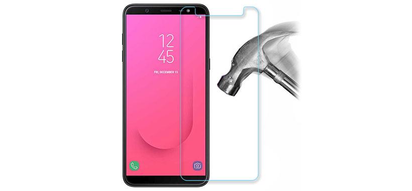 محافظ صفحه نمایش شیشه ای سامسونگ جی8