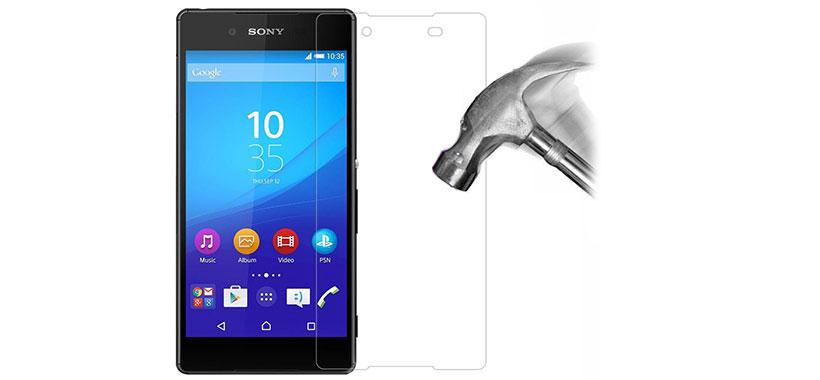 محافظ صفحه نمایش شیشه ای سونی Z3 Plus