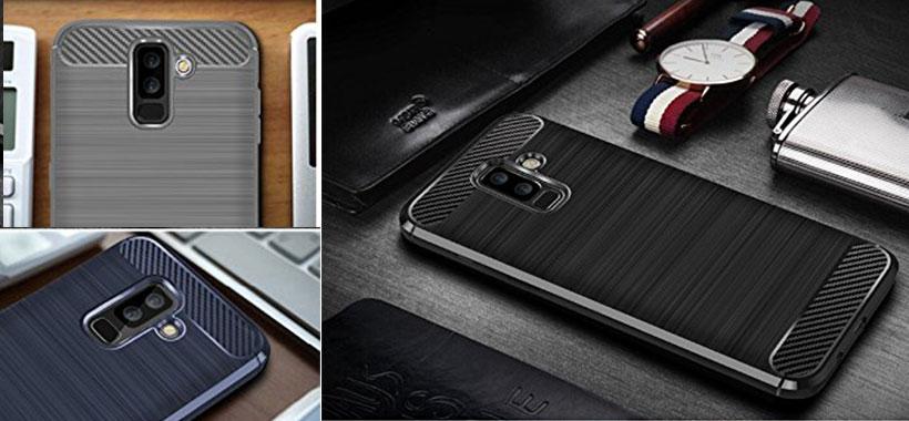 محافظ فیبر کربن Samsung A6 Plus 2018