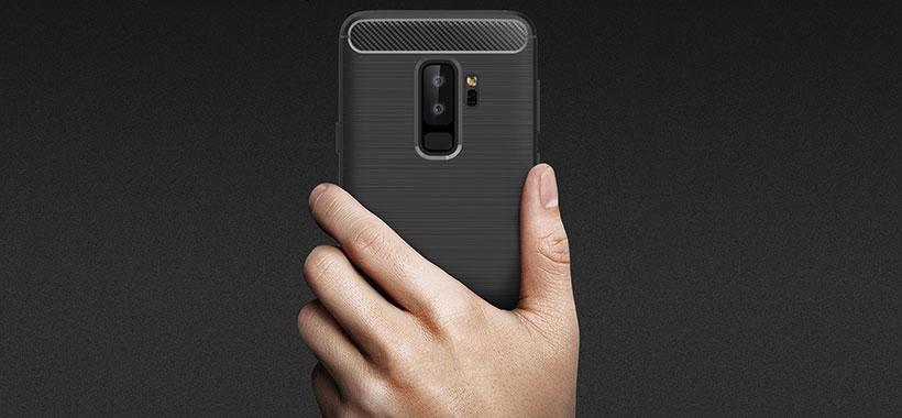 محافظ فیبر کربن Samsung S9 Plus