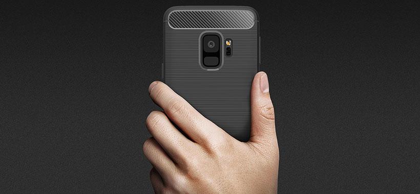 محافظ فیبر کربن Samsung S9