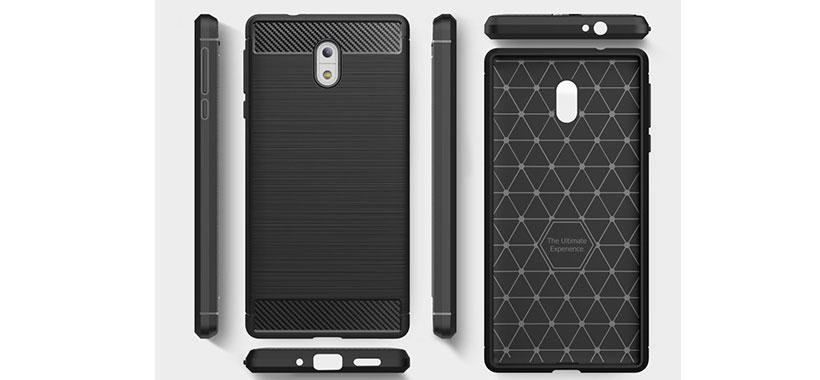 قاب فیبر کربن Nokia 3