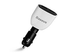 شارژر فندکی سریع بیسوس Baseus Smart Series Auto Voltage Monitoring