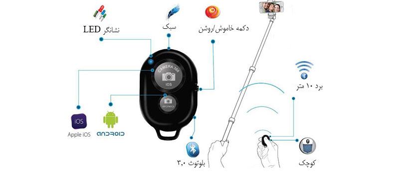 ریموت کنترل دوربین پرومیت Zap
