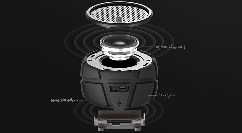 صدایی بسیار با کیفیت از اسپیکر کیو سی وای Box2