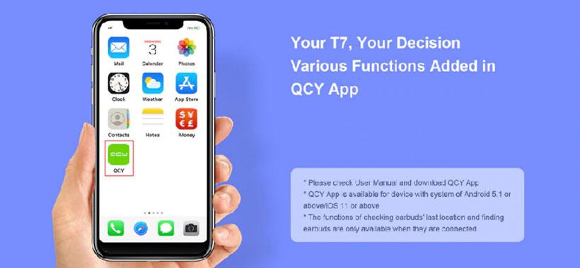 اپلیکیشن QCY