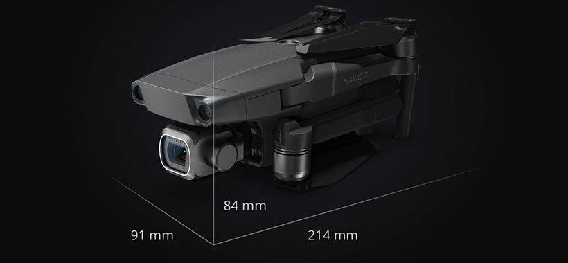 هواپیمای بدون سرنشین دوربین دار دی جی آی Mavic 2 PRO