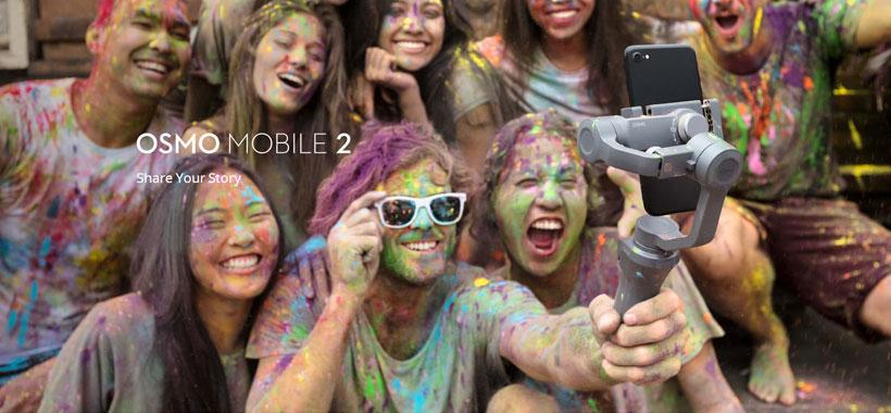 گیمبال (لرزشگیر) موبایل DJI Osmo Mobile 2