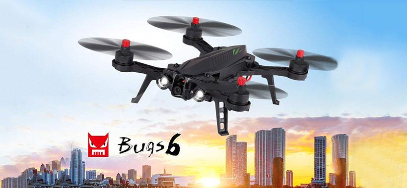 کوادکوپتر MJX Bugs 6