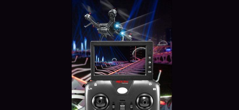 قابلیت نصب دوربین روی کوادکوپتر MJX Bugs 6