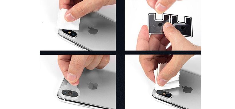 محافظ لنز دوربین آیفون X/XS/XS Max راک