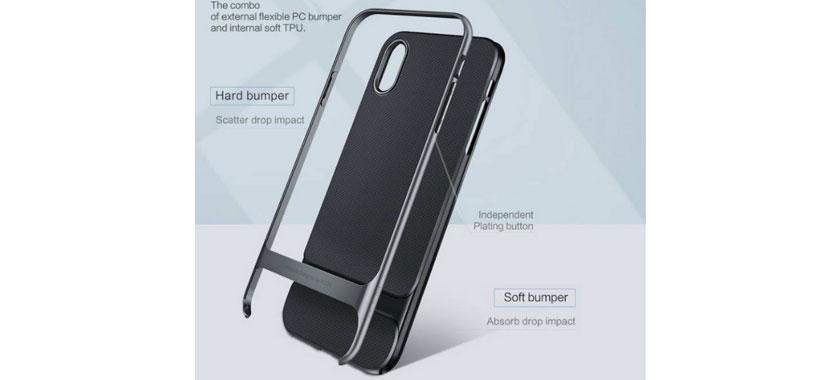 قاب محافظ راک اپل iPhone X/XS