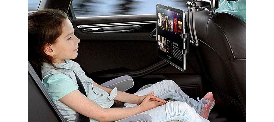 پایه نگهدارنده موبایل و تبلت صندلی عقب خودرو راک RPH0876