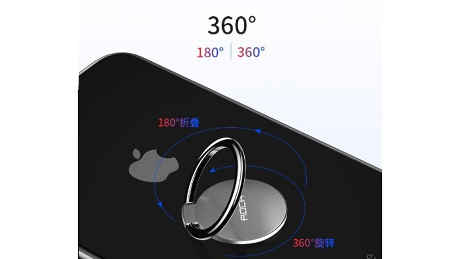 ابلیت چرخش در 360 درجه حلقه نگهدارنده موبایل راک مدل RPH0886