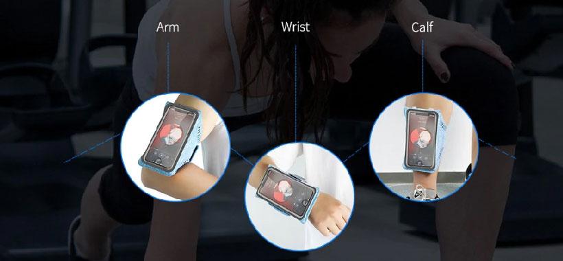 بازوبند ورزشی گوشی راک Armband2 7inch