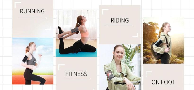 بازوبند ورزشی نگهدارنده گوشی راک Armband2 سایز 7 اینچ