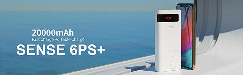 پاور بانک سریع روموس 6PS+ PSN20