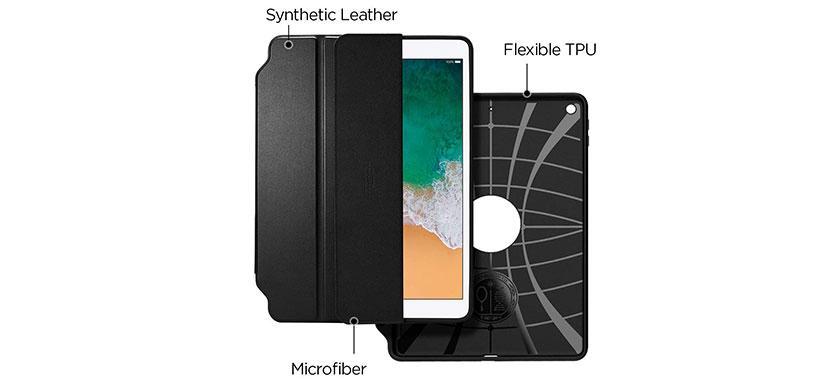 کاور محافظ Smart Fold2 اسپیگن برای آیپد 9.7 اینچی