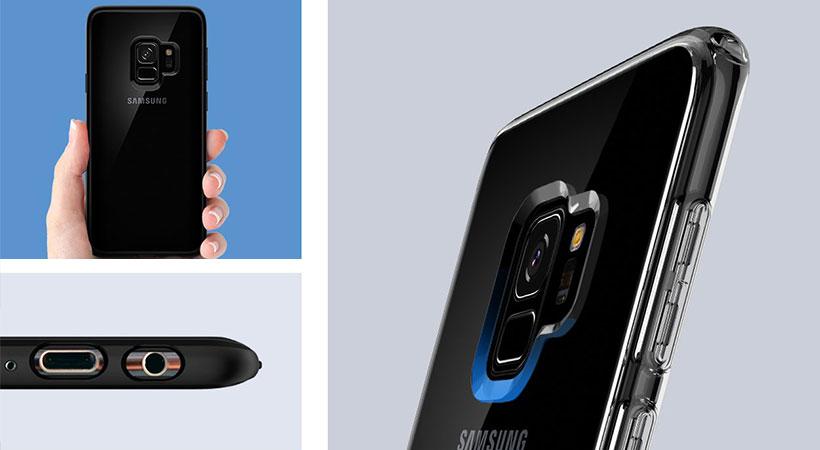 قاب محافظ اسپیگن سامسونگ Spigen Ultra Hybrid Case Samsung Galaxy S9