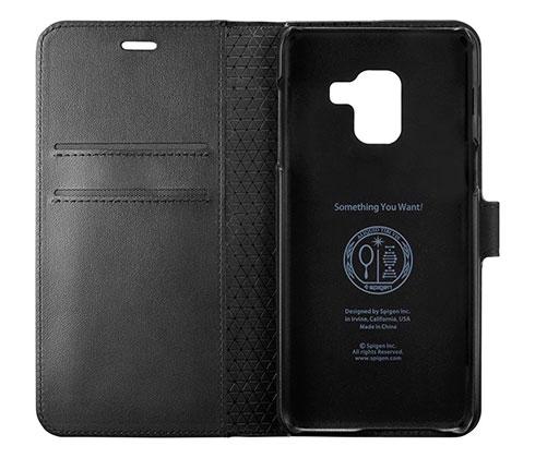 کیف محافظ اسپیگن سامسونگ Spigen Wallet S Case Samsung Galaxy A8 2018