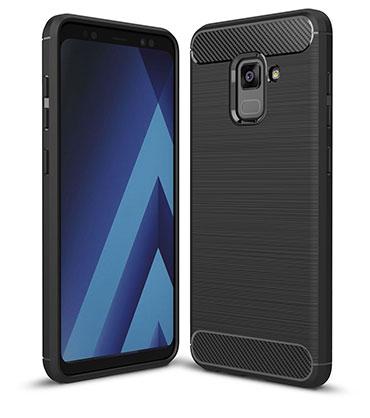 محافظ ژله ای سامسونگ Carbon Fibre Case Samsung Galaxy A8 2018