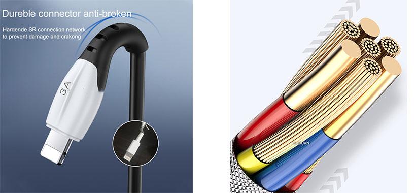 کابل شارژ و انتقال داده لایتنینگ توتو BL-005