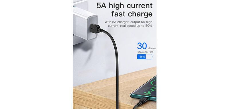 کابل شارژ تایپ سی توتو