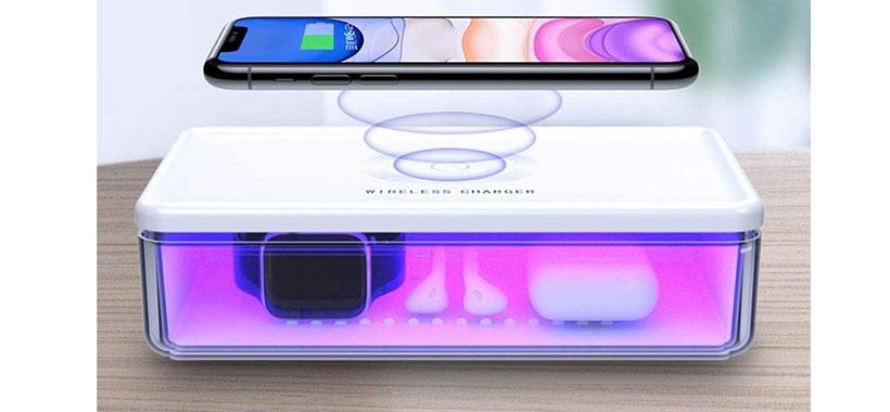 شارژر بیسیم و ضدعفونیکننده فرابنفش توتو Totu Wireless Charging UV Stirilization Box N52