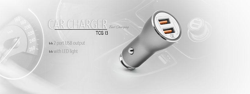 شارژر فندکی سریع TSCO TCG 13