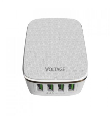 هاب یو اس بی 4 پورت ولتاژ Voltage VPE-U02 4 Port 4.4A Rapid Charge Hub USB