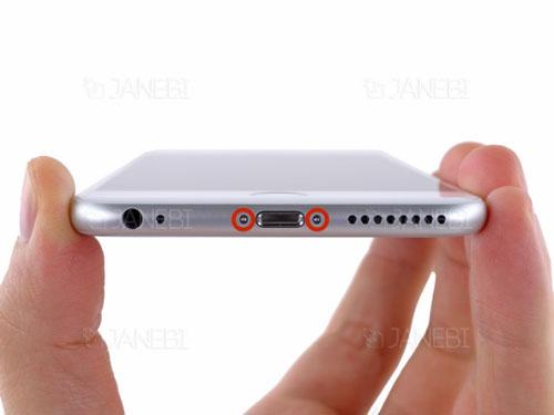 تعویض باتری گوشی آیفون 6 پلاس