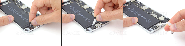 تعویض باطری گوشی iPhone 6 plus