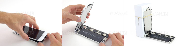 تعویض باتری گوشی موبایل آیفون سیکس پلاس